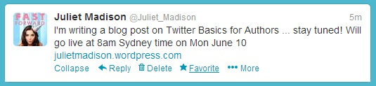 Twitter Basics for Authors [Marketing Mondays] (6/6)