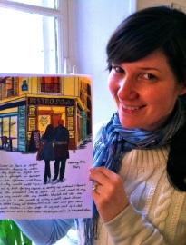Janice MacLeod St Andre Paris Letter Photo Krzysztof Lik